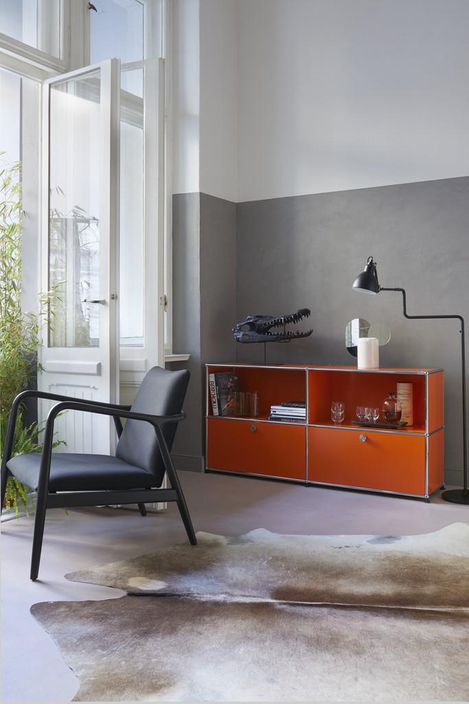 USM Sideboard orange